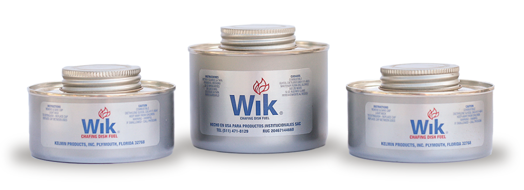 Kelmin Products Inc. Wik 4-hour and 6-hour cans image