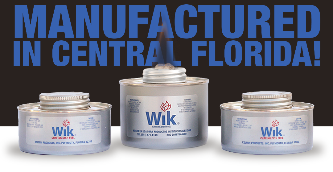 WIK is Manufactured in Central Florida
