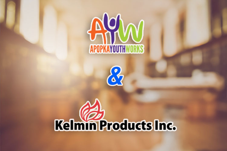 Apopka Youth Works and Kelmin Products
